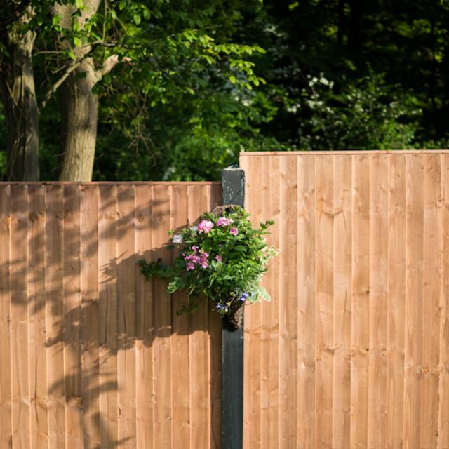 """Garden Fence"" stock image"