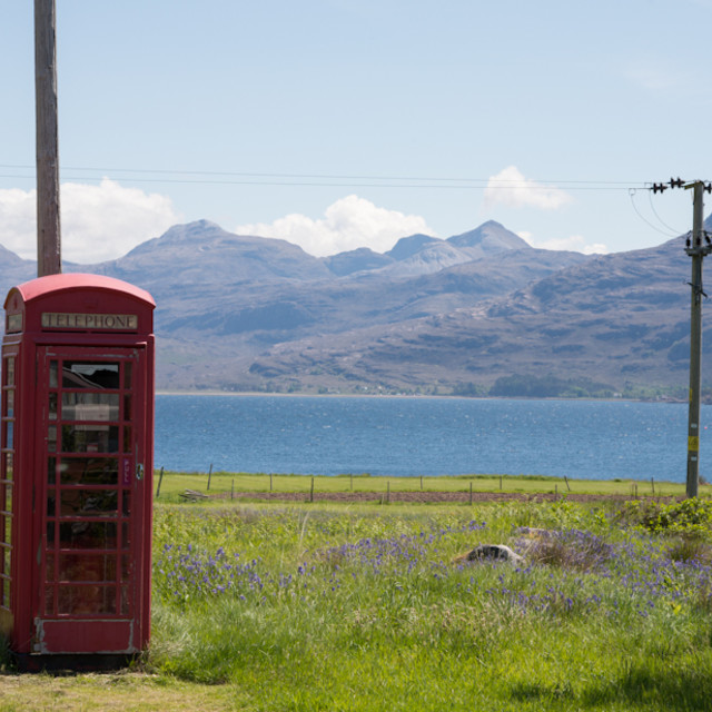 """Telephone box"" stock image"