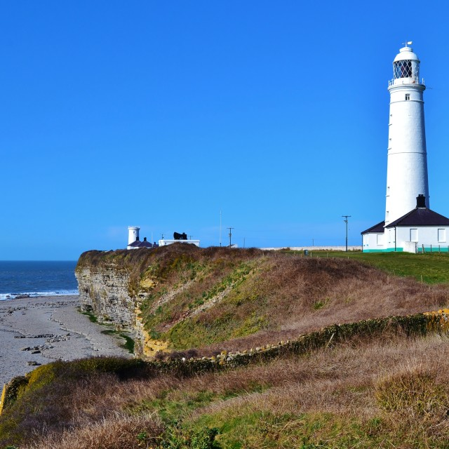 """Nash Point Lighthouse"" stock image"