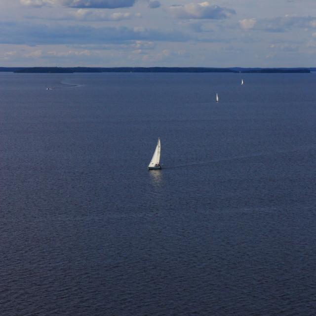 """""""Sunday sailing"""" stock image"""