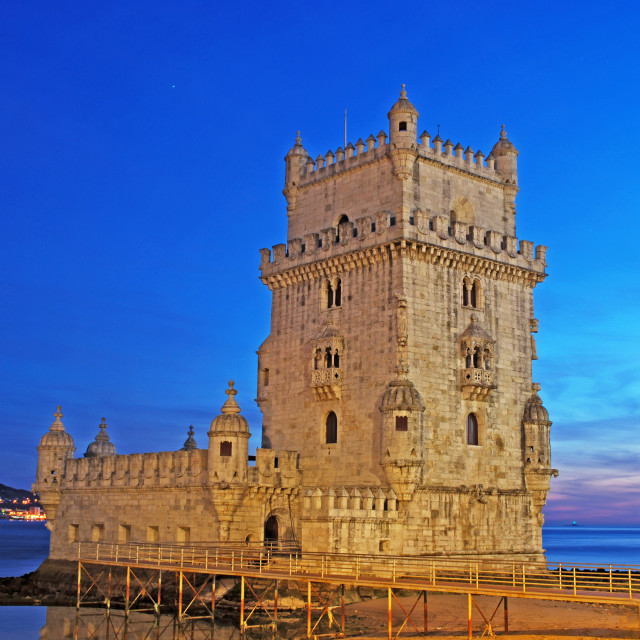 """Belem Tower"" stock image"