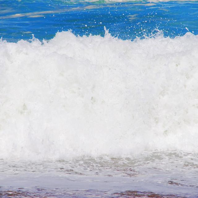 """Atlantic Ocean Wave"" stock image"