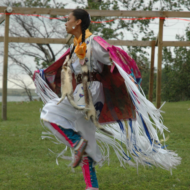 """Native American Indian dancer"" stock image"
