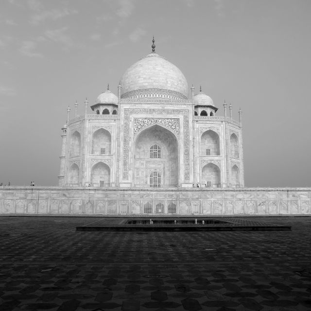 """The Taj Mahal"" stock image"