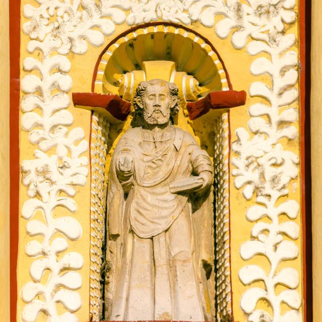 """Church Statue"" stock image"