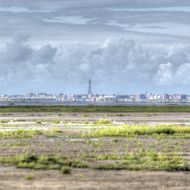 """Blackpool Panoramic"" stock image"