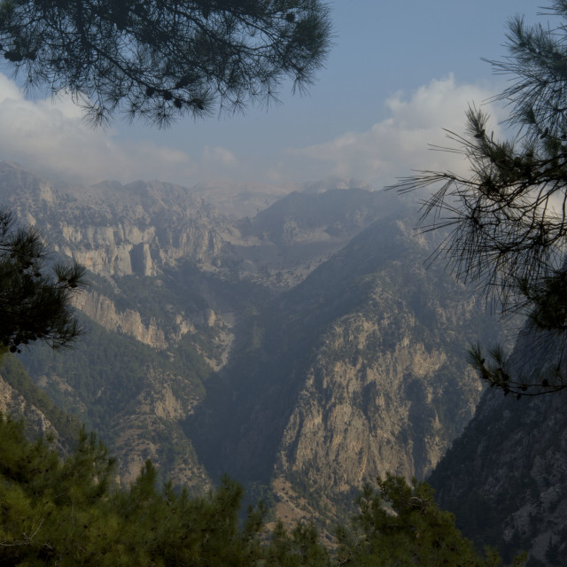 """Samaria Gorge"" stock image"