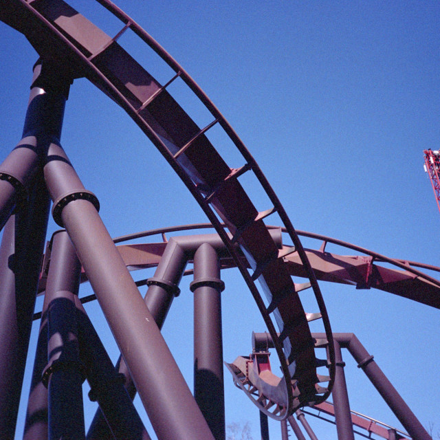 """""""Rollercoaster"""" stock image"""