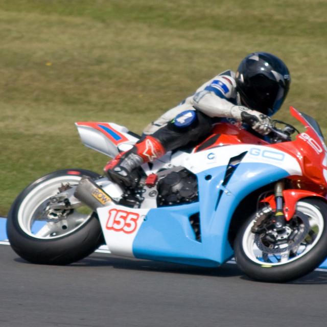 """Sportsbike"" stock image"