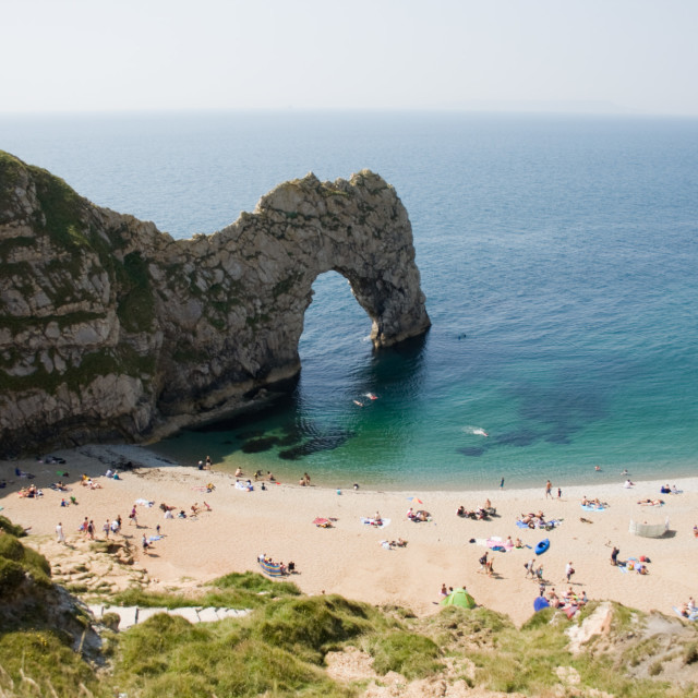 """Durdle Door, Dorset"" stock image"