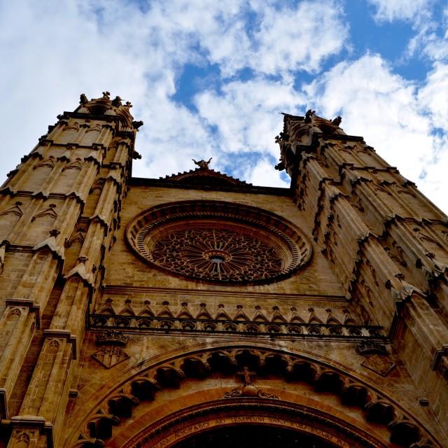"""Palma de Mallorca Cathedral"" stock image"