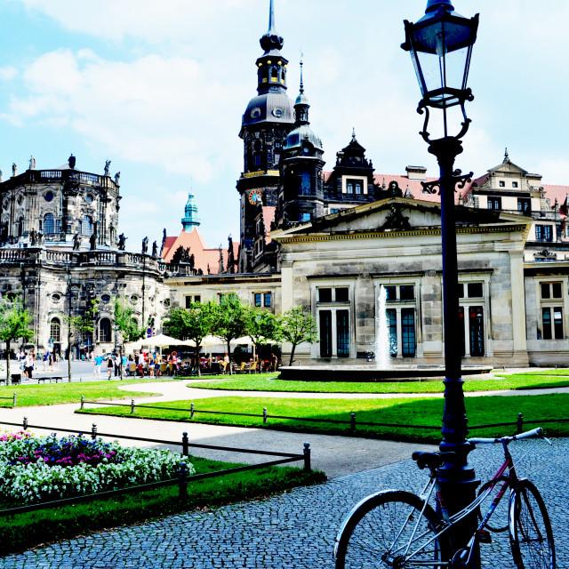 """Dresden, Germany"" stock image"