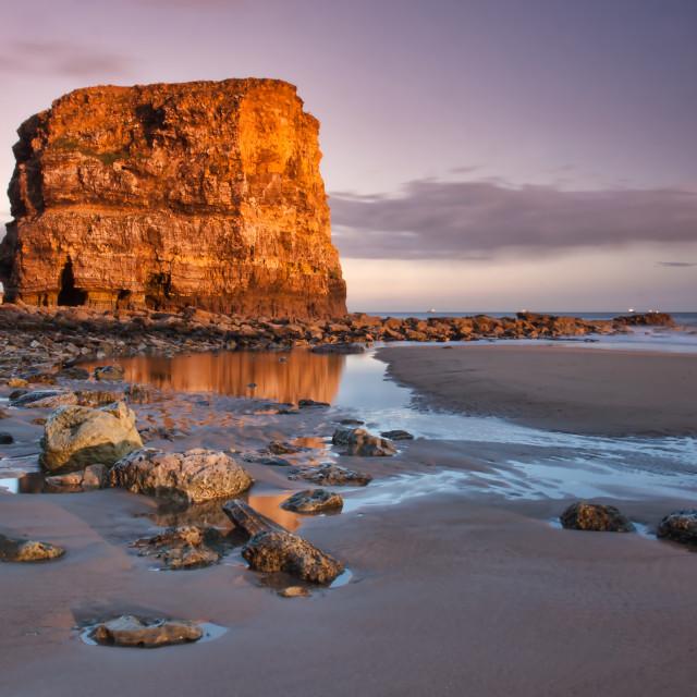 """Marsden Rock"" stock image"