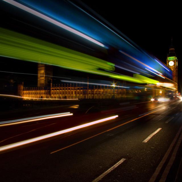 """London Bus"" stock image"