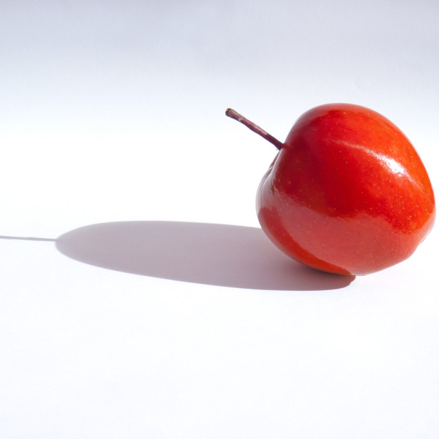 """The Red Apple"" stock image"