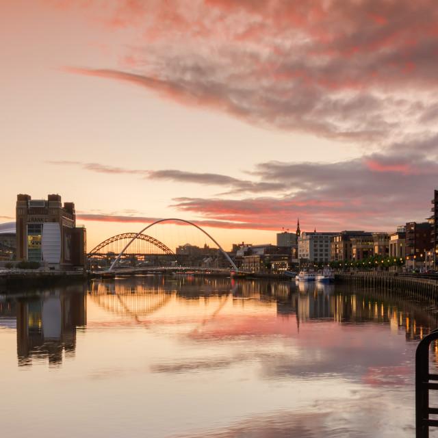 """The River Tyne"" stock image"
