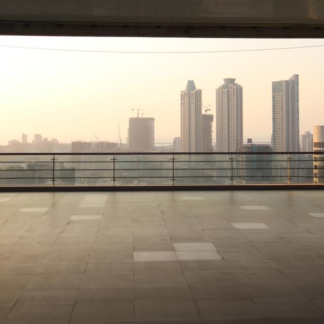 """""""Mumbai Skyline"""" stock image"""