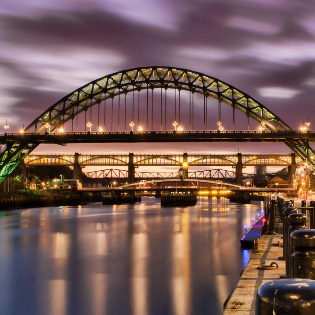 """Tyne Bridge"" stock image"