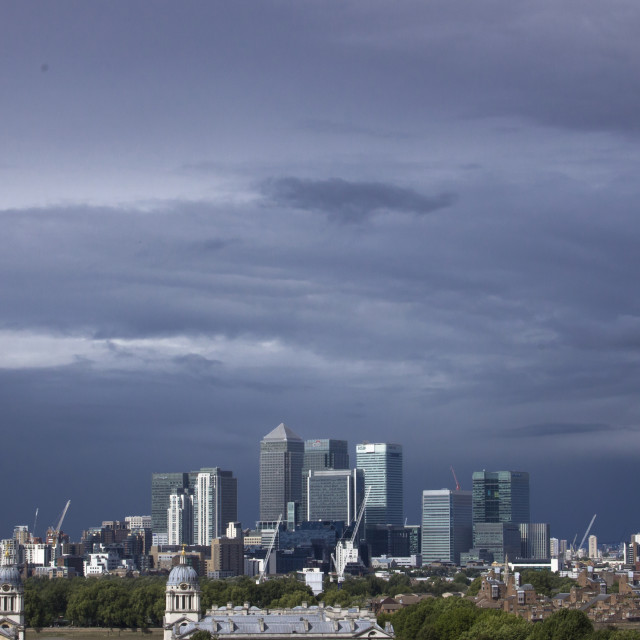 """Stormy London"" stock image"