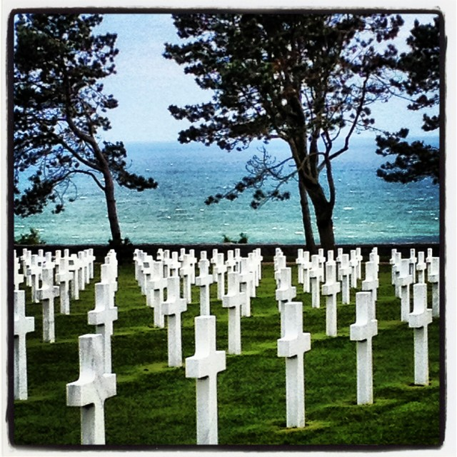 """D-Day Omaha Beach"" stock image"
