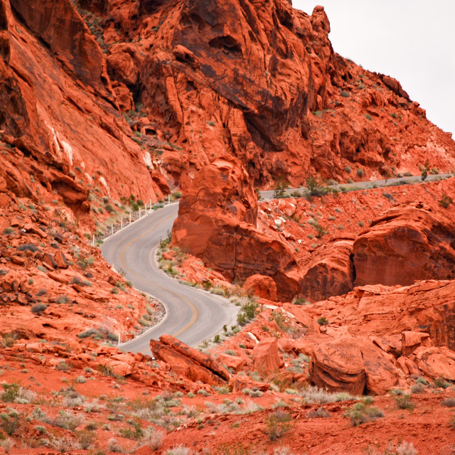"""Red Mountain Pass"" stock image"