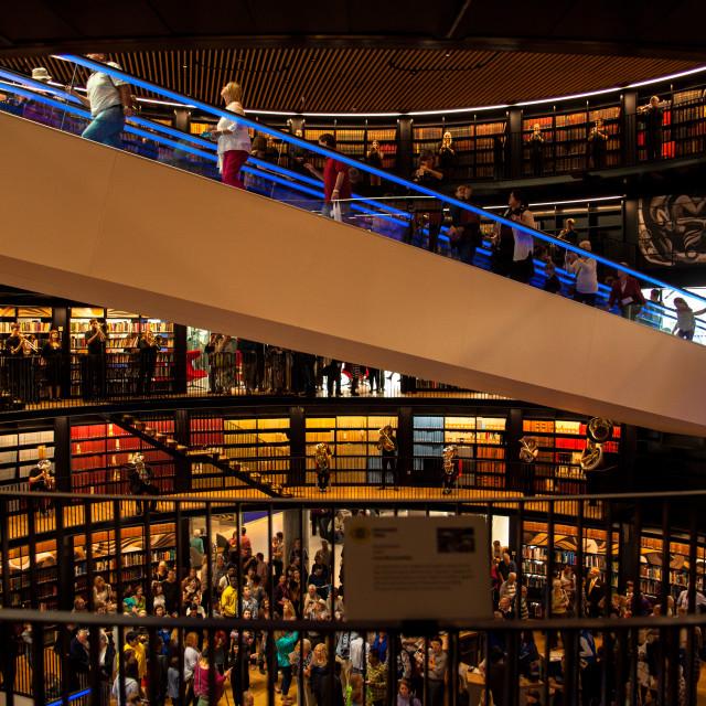 """Library of Birmingham"" stock image"
