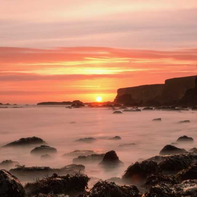 """Marsden Bay at Sunrise"" stock image"