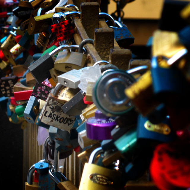 """Love Locks"" stock image"