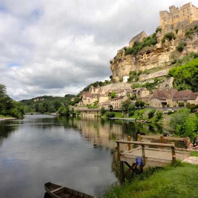 """Beynac, Dordogne"" stock image"
