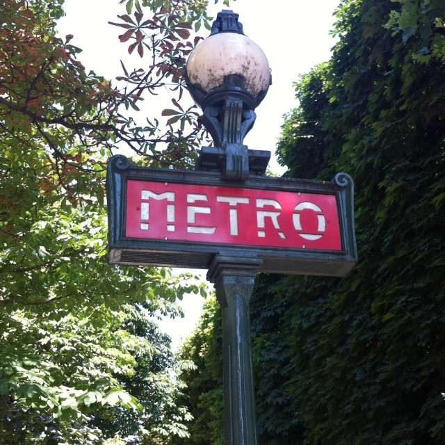 """Metro"" stock image"