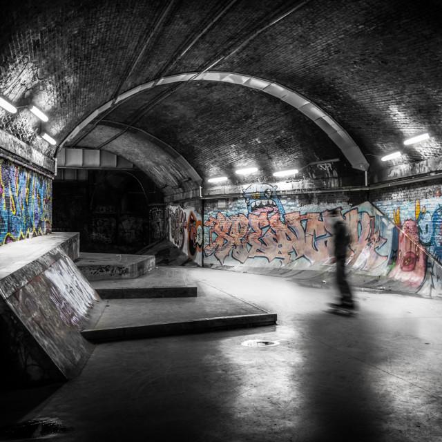 """Underground Grafitti"" stock image"