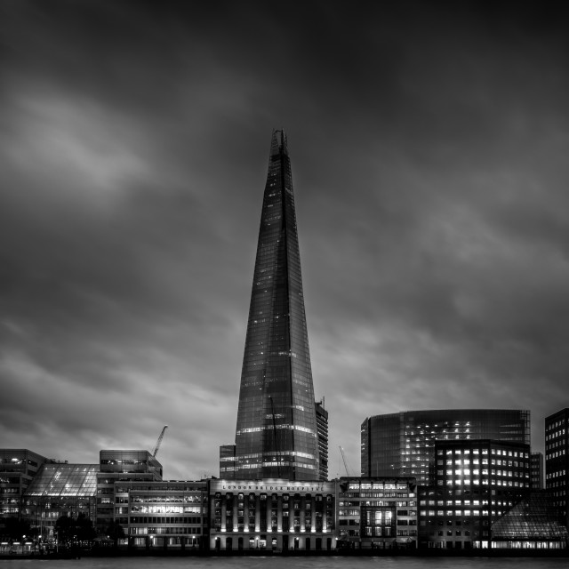 """The Shard London"" stock image"
