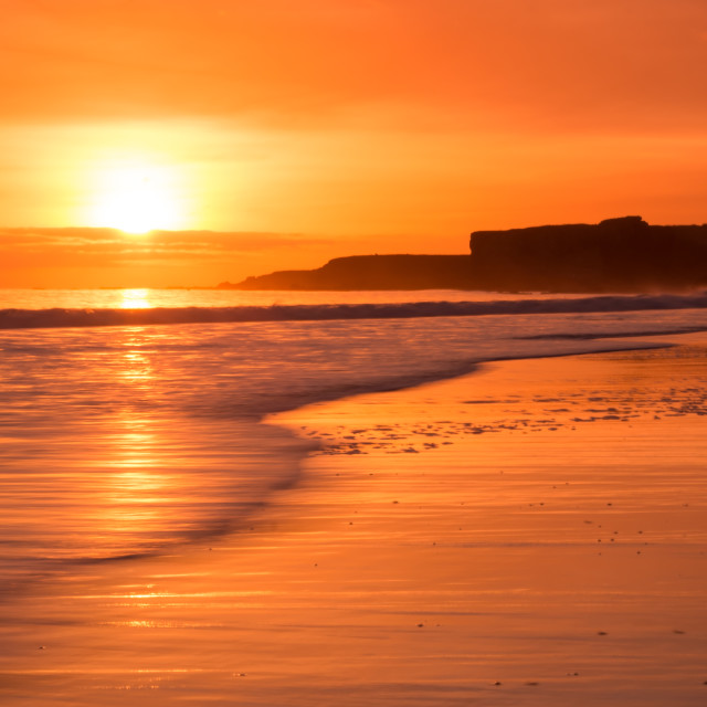 """South Shields Beach"" stock image"