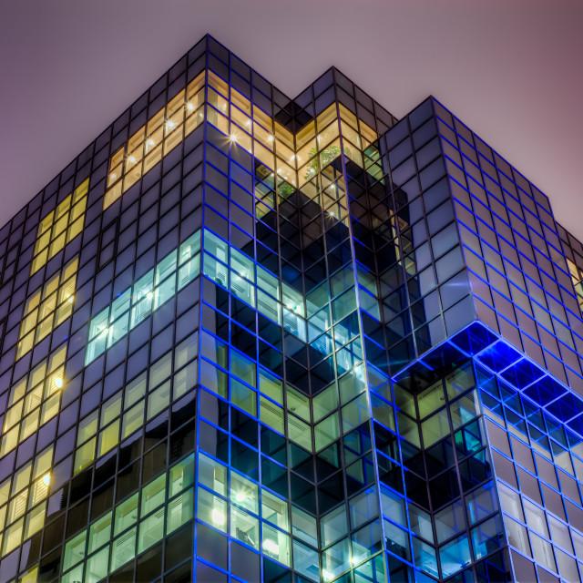 """Rubik's Cube Building"" stock image"
