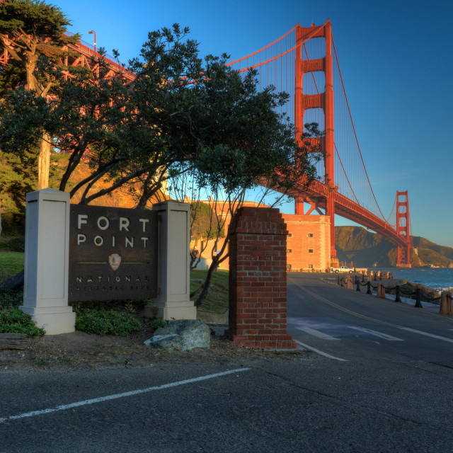 """Fort Point"" stock image"