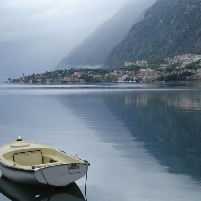 """Montenegro boat"" stock image"