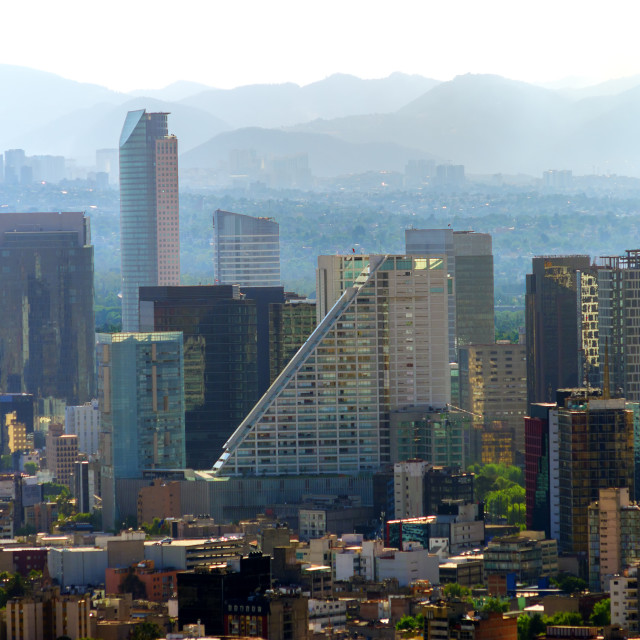 """""""Downtown Mexico City"""" stock image"""