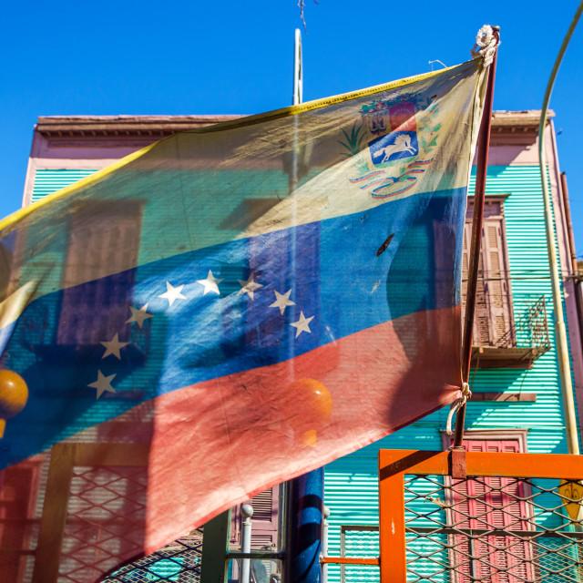 """Venezuelan Flag"" stock image"