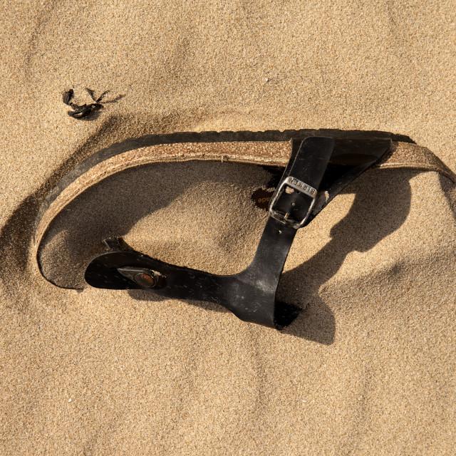 """Sand-al"" stock image"