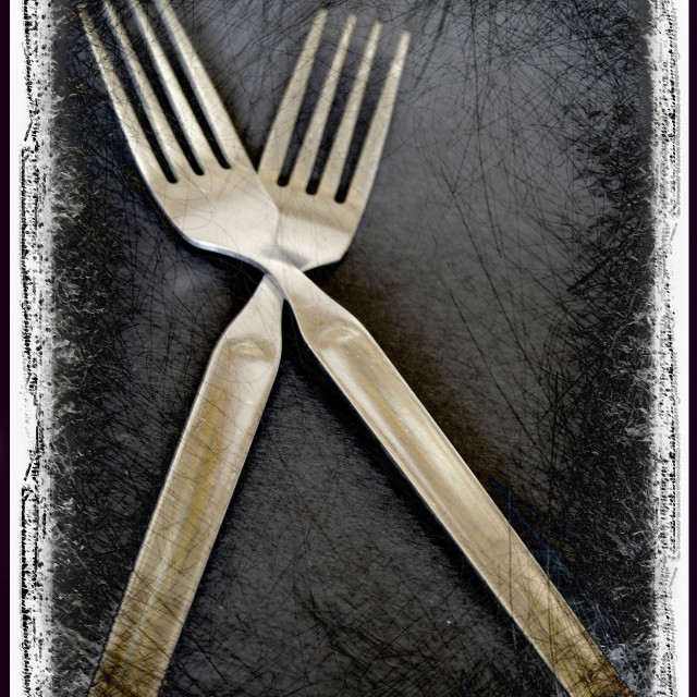 """Cutlery"" stock image"
