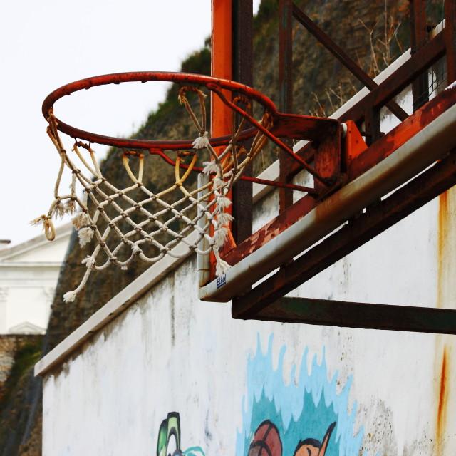 """Streetball"" stock image"
