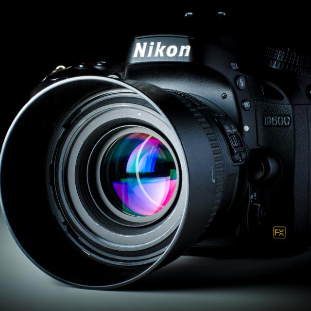 """Nikon D600"" stock image"