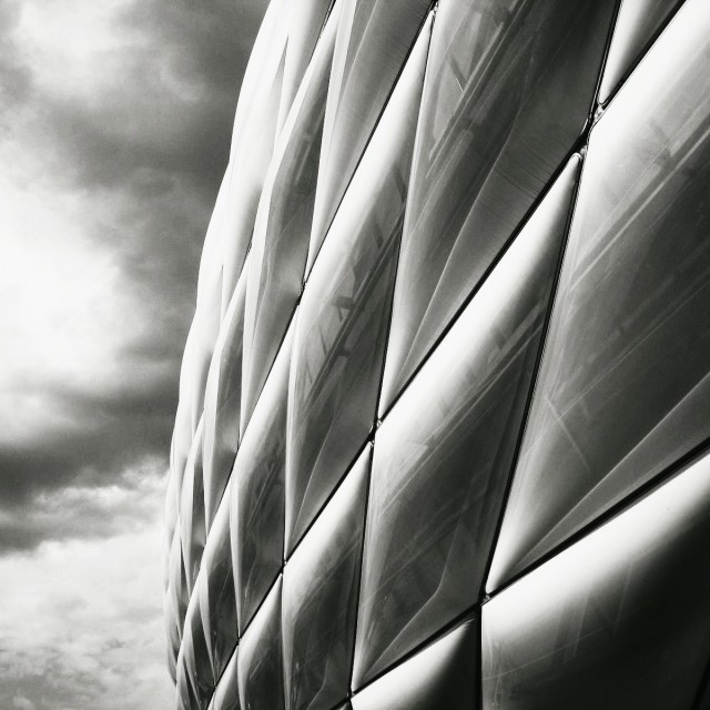 """Allianz Arena, Munich"" stock image"
