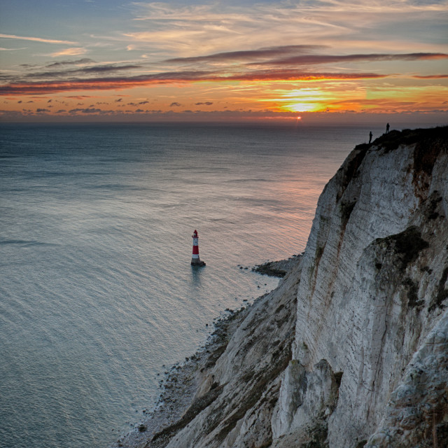 """Beachy Head"" stock image"
