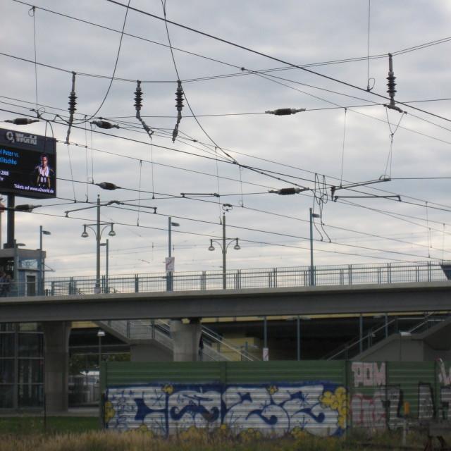 """""""Berlin graffiti"""" stock image"""