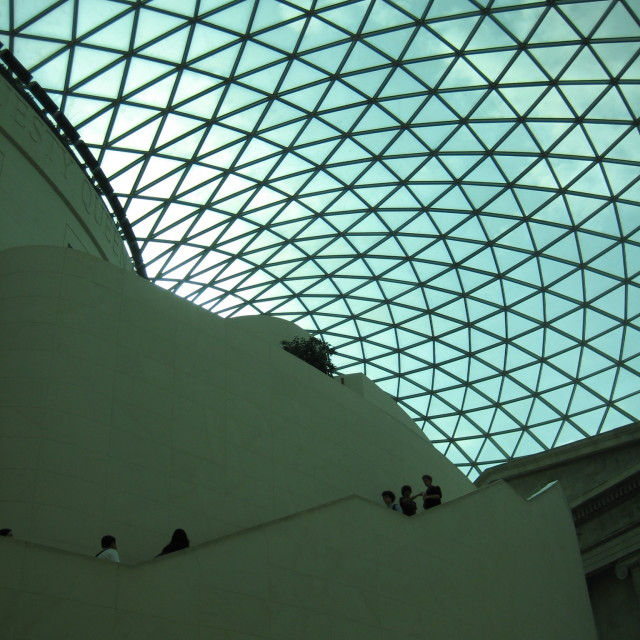 """The British Museum, London"" stock image"