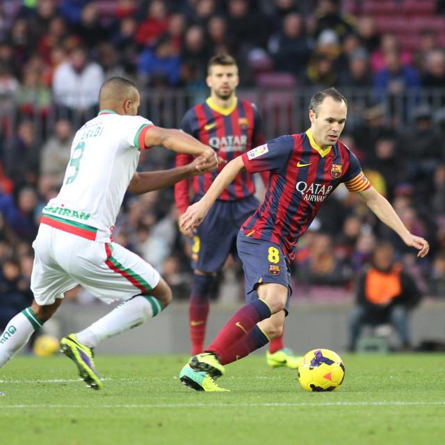 """Iniesta"" stock image"