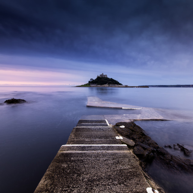 """St Michael's Mount - Cornwall"" stock image"