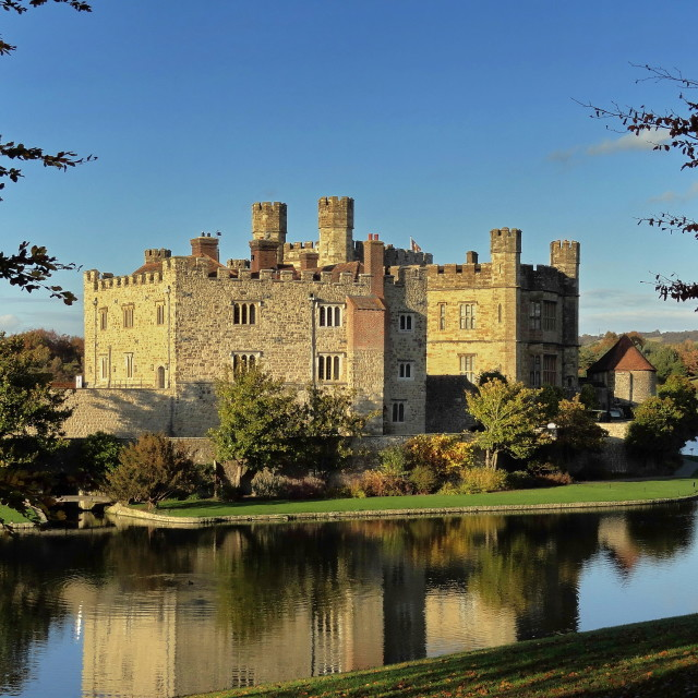 """Leeds Castle"" stock image"