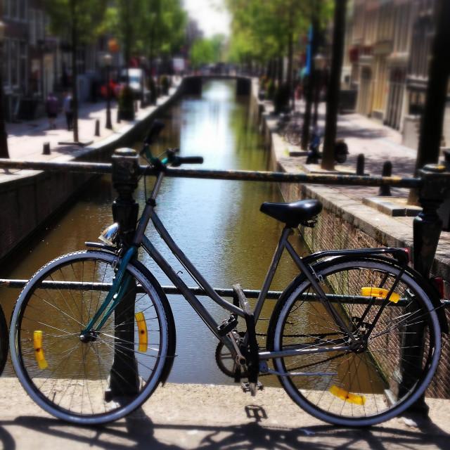 """Amsterdam Bike"" stock image"
